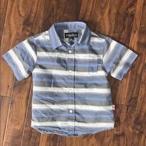 English Laundry short sleeve button down